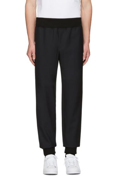 A.P.C. - Black Wool Lounge Pants