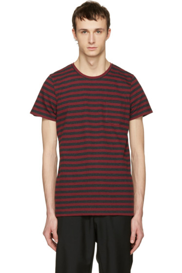 A.P.C. - Red Striped Keanu T-Shirt