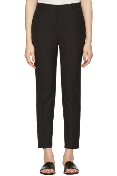 Lanvin - Black Skinny Trousers