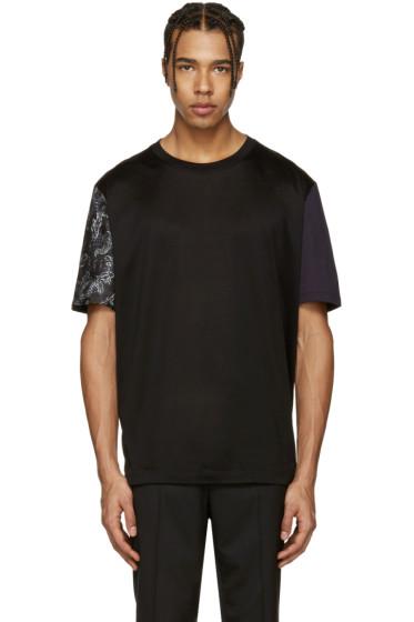 Lanvin - Black Koi Sleeve T-Shirt