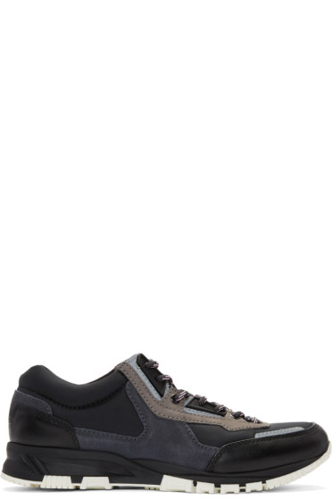 Lanvin - Black Hiking Sneakers