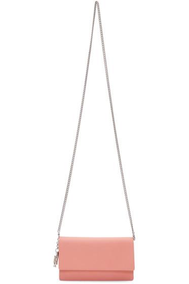 Alexander McQueen - Pink Insignia Chain Bag