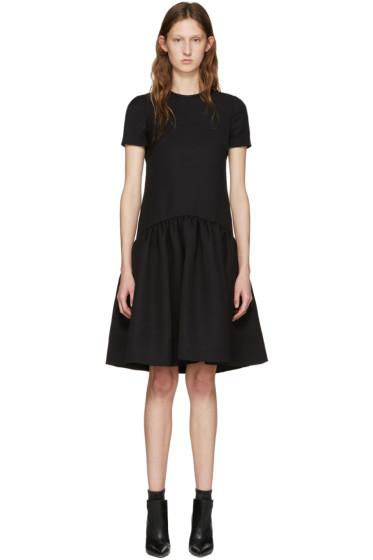 Alexander McQueen - Black Peplum Dress