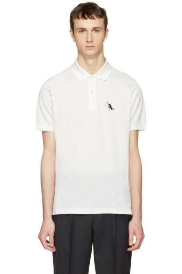 Paul Smith - White Dinosaur Polo