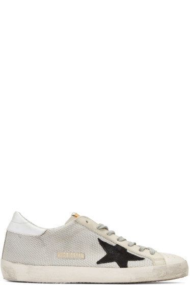 Golden Goose - Grey Superstar Sneakers