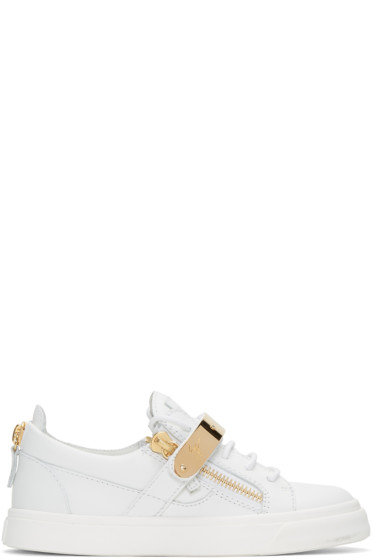 Giuseppe Zanotti - SSENSE Exclusive White London Sneakers