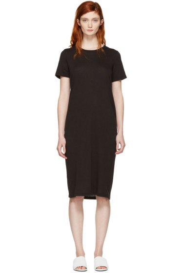 Raquel Allegra - Black T-Shirt Dress