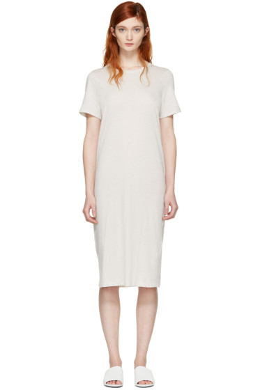 Raquel Allegra - Off-White T-Shirt Dress