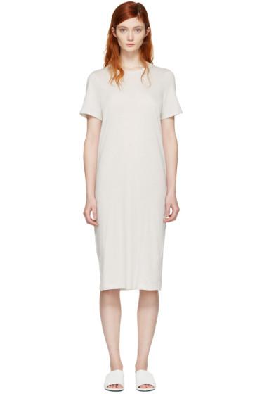 Raquel Allegra - Off-White T-Shirt Dress