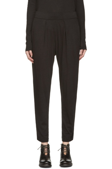 Raquel Allegra - Black Jersey Easy Pants