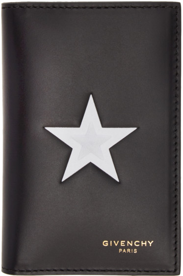 Givenchy - Black Star Card Holder