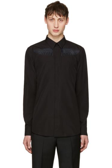 Givenchy - Black Wing Shirt