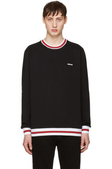 Givenchy - Black Contrast Collar Sweatshirt