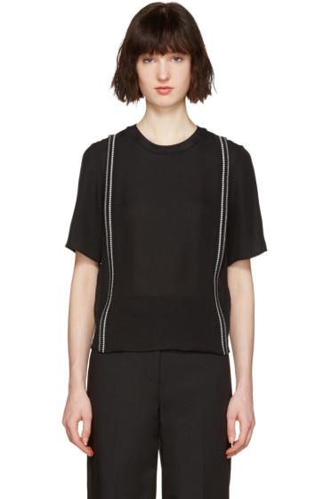 3.1 Phillip Lim - Black Embroidered Blouse