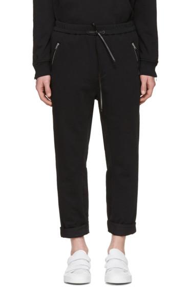 3.1 Phillip Lim - Black Tapered Lounge Pants