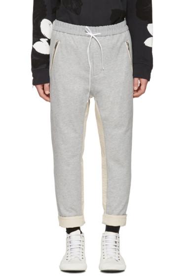 3.1 Phillip Lim - Grey Tapered Lounge Pants