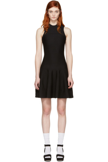 Carven - Black Knit Dress