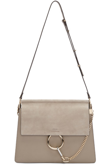 Chloé - Grey Medium Faye Bag