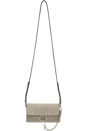 Chloé - Grey Faye Wallet Bag