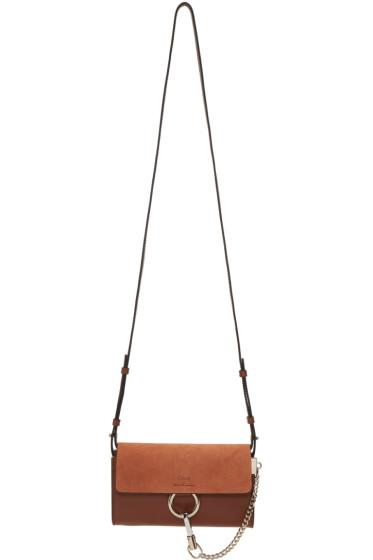 Chloé - Brown Faye Wallet Bag