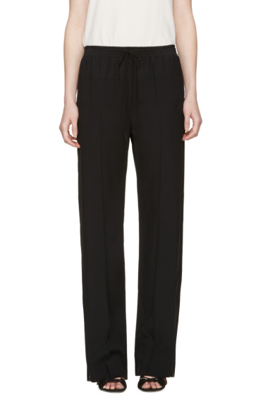 Chloé - Black Drawstring Lounge Pants