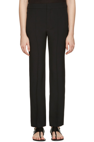 Chloé - Black Cady Trousers