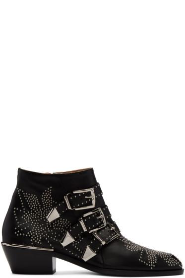 Chloé - Black Susanna Boots