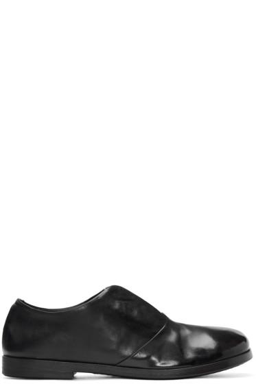 Marsèll - Black Laceless Lista Oxfords