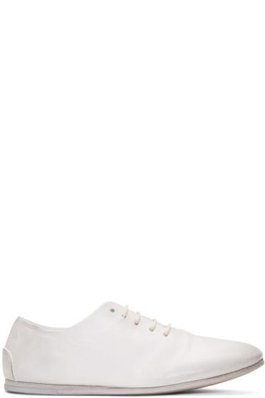 Marsèll - White Dritta Oxfords