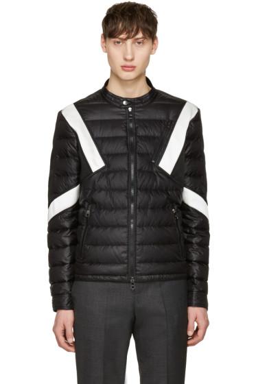 Neil Barrett - Black & White Apres Ski Jacket
