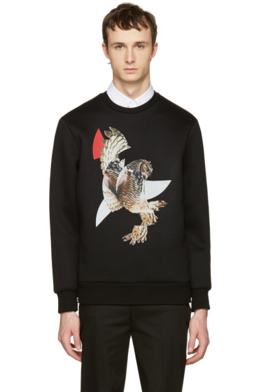 Neil Barrett - Black Owls Pullover