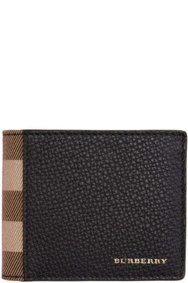 Burberry - Black Hipfold Wallet
