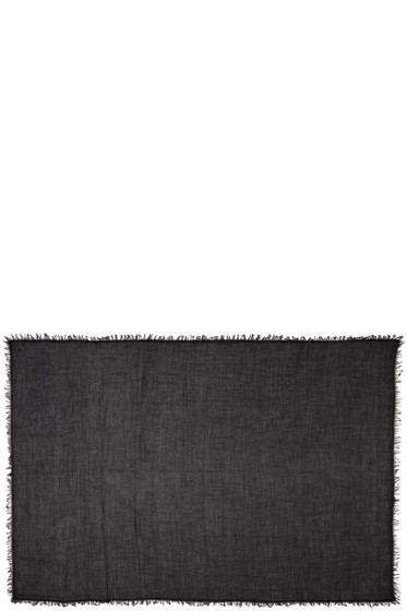 Ann Demeulemeester - Black Cashmere Scarf