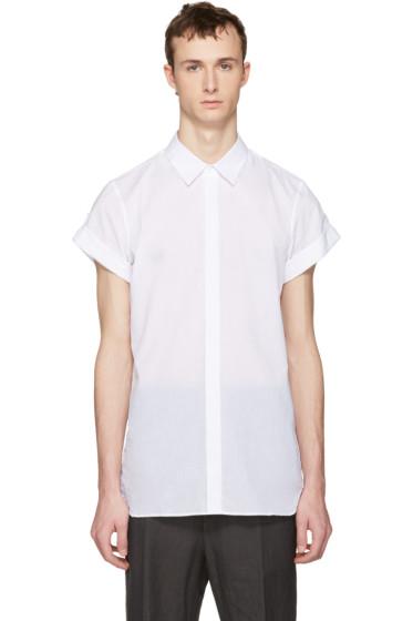 Ann Demeulemeester - White Button Shirt