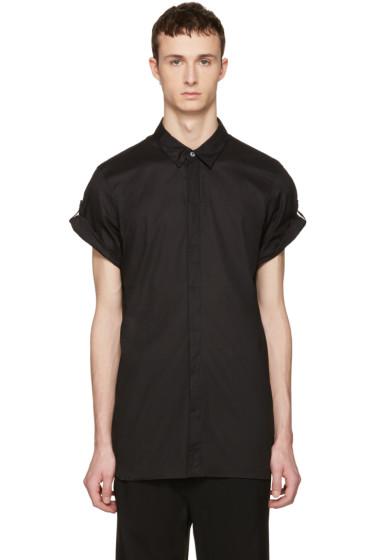 Ann Demeulemeester - Black Button Shirt
