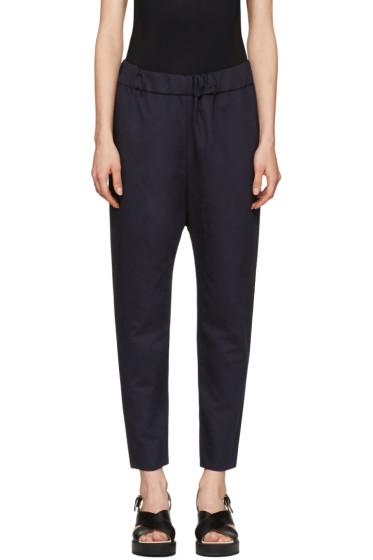 Marni - Navy Twill Trousers
