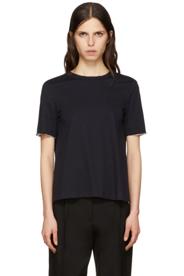 Marni - Navy Tie Back T-Shirt