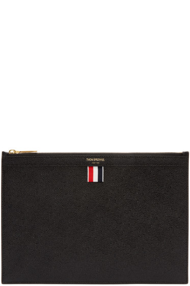 Thom Browne - Black Small Tablet Holder
