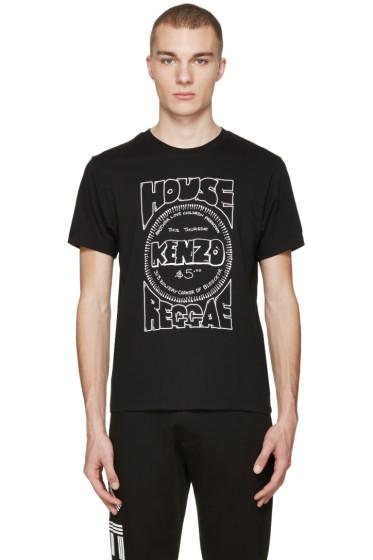 Kenzo - Black 'House Reggae' T-Shirt