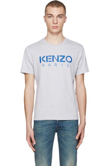 Kenzo - Grey Logo T-Shirt
