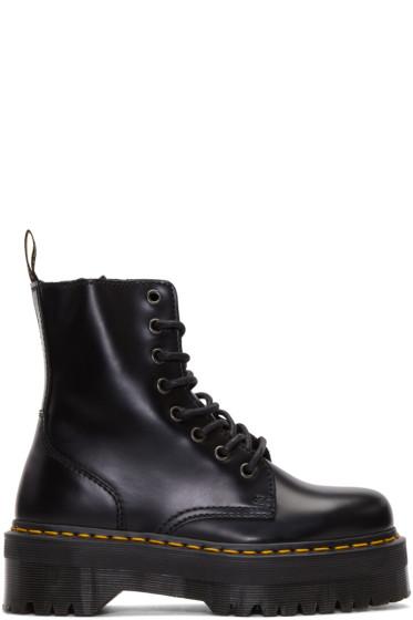 Dr. Martens - Black Eight-Eye Jadon Boots