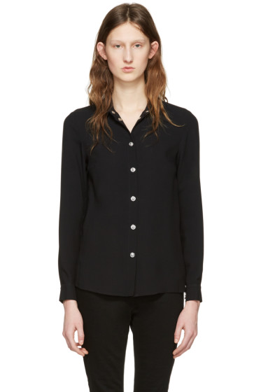 Versus - Black Side Zip Shirt