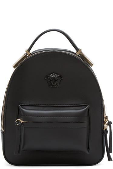 Versace - Black Mini Medusa Backpack