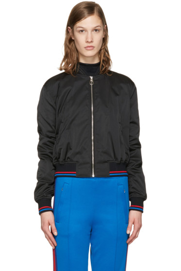 Versace - Black New York Medusa Bomber Jacket