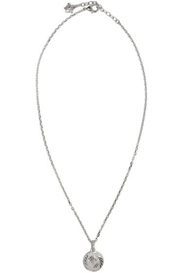 Versace - Silver Medusa Pendant Necklace