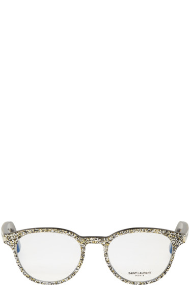Saint Laurent - Silver SL Classic 10 Glasses