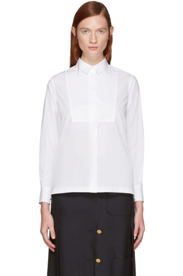 Sacai - White Classic Shirting Shirt