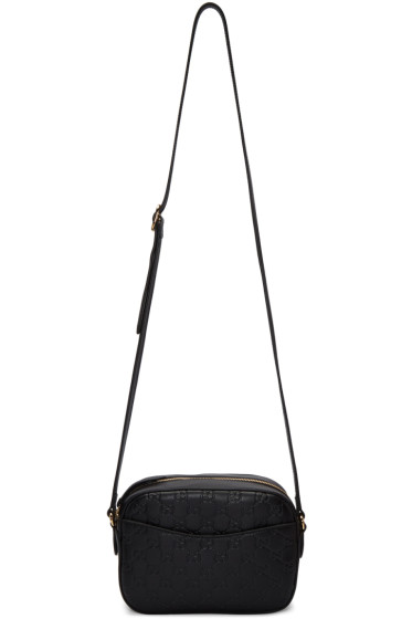Gucci - Black Small GG Camera Bag