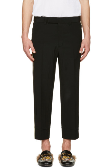 Gucci - Black Wrinkled Trousers