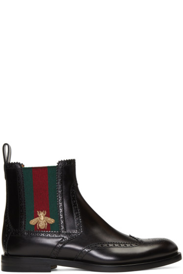 Gucci - Black Strand Chelsea Boots